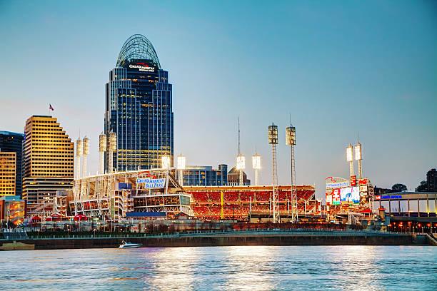 Great American Ball Park stadium in Cincinnati stock photo