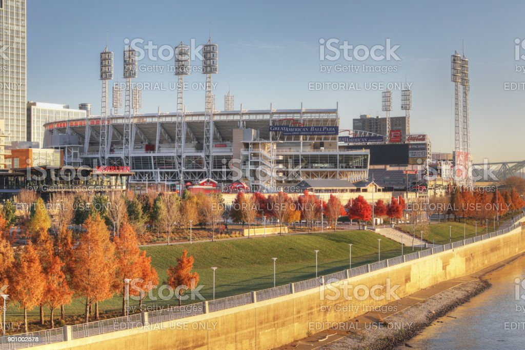 Great American Ballpark in Cincinnati stock photo
