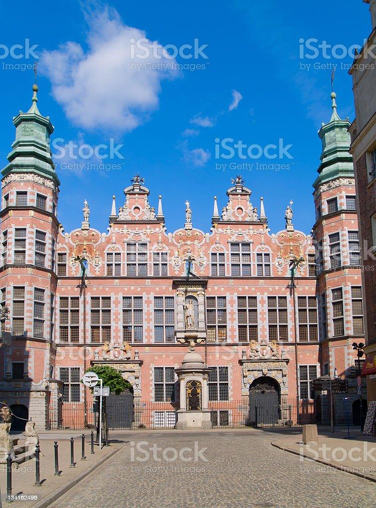 great armory Gdansk, Poland stock photo