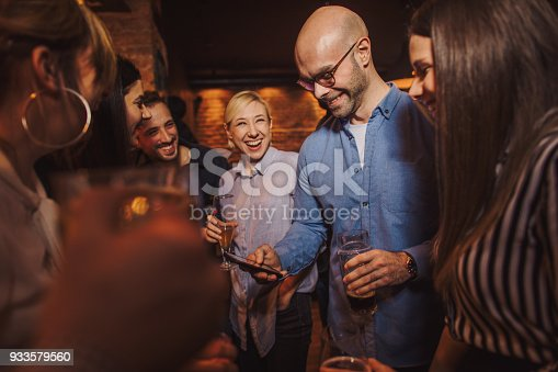 istock Great atmosphere in night out 933579560