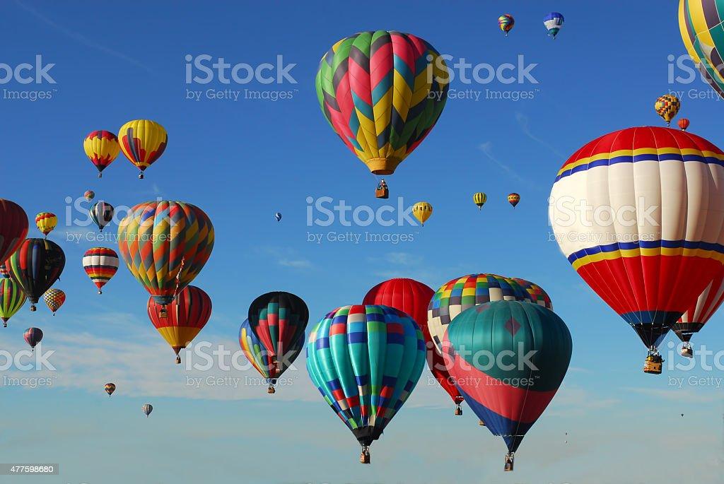 Great Ballooning Adventure stock photo