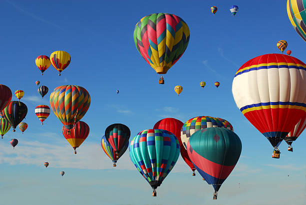 Great Ballooning Adventure stock photo