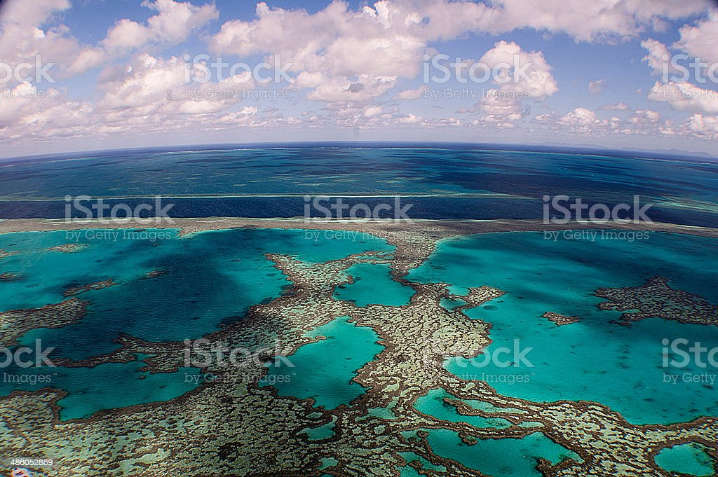 Great Barrier Reef royalty-free stock photo