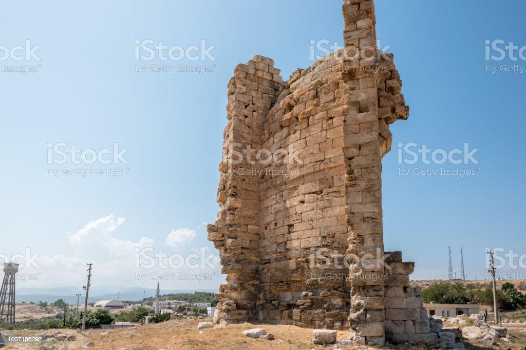 Great Basilica At Aya Tekla Underground Cave Church Stock