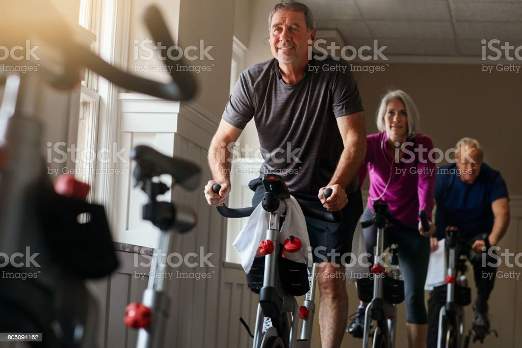 Great bodies are created through hard work not age - foto stock