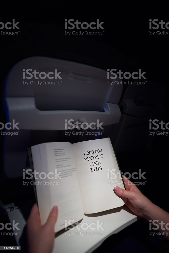 great book for reading stock photo
