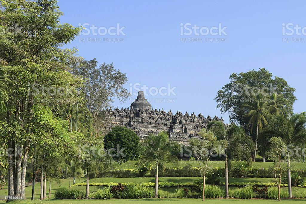 Great Borobudur royalty-free stock photo