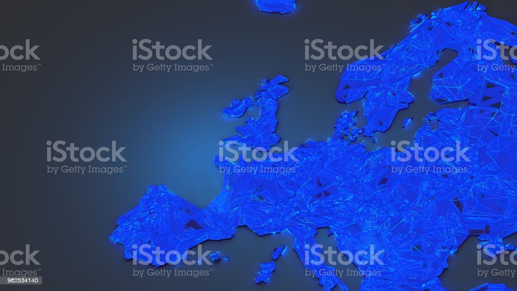 Great Britain 3d - Royalty-free Angle Stock Photo
