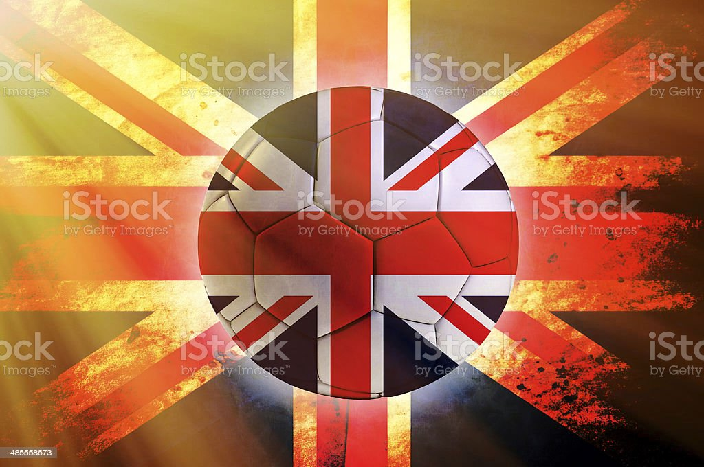 Great Britain ball stock photo