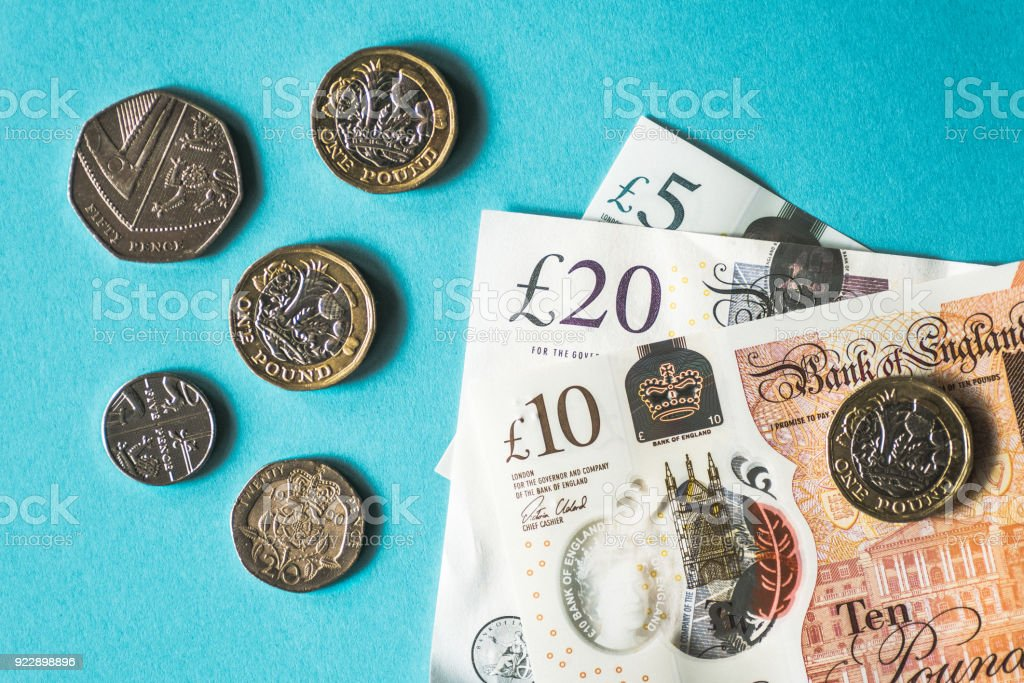 Great Britain Pound Currency stock photo