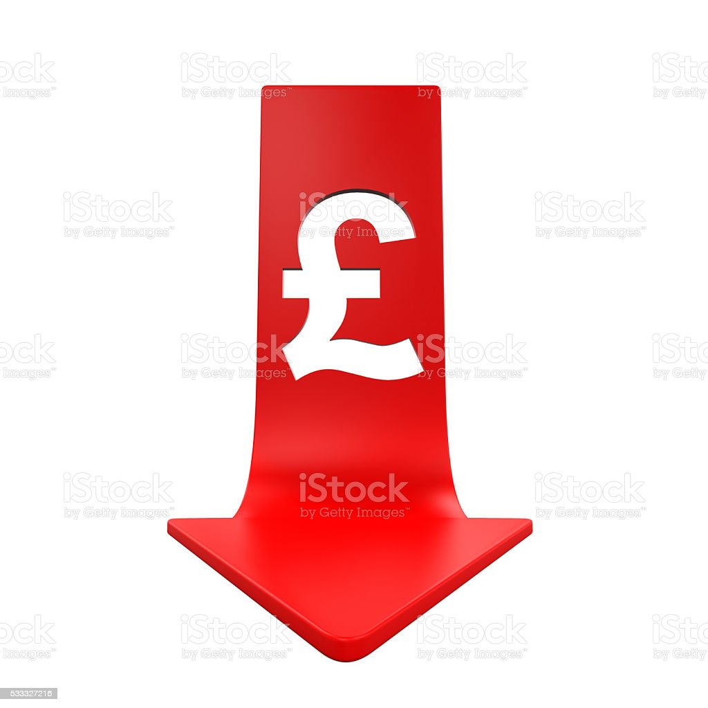 Great britain pound symbol and red arrow stock photo istock british currency currency sign england uk great britain pound symbol buycottarizona