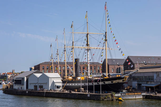 SS Great Britain Ship in Bristol, UK stock photo