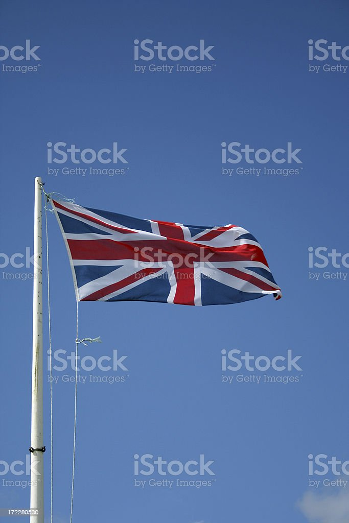 Great British Flag royalty-free stock photo