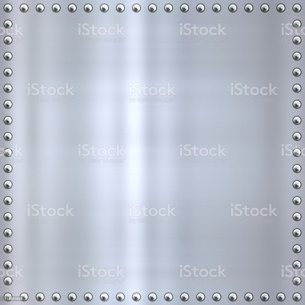 great brushed steel or aluminium background texture royalty-free stock photo