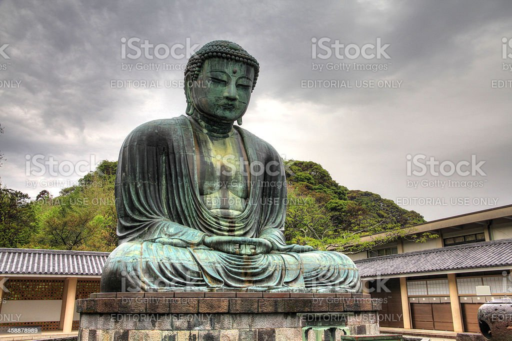 Great Buddha in Kamakura stock photo