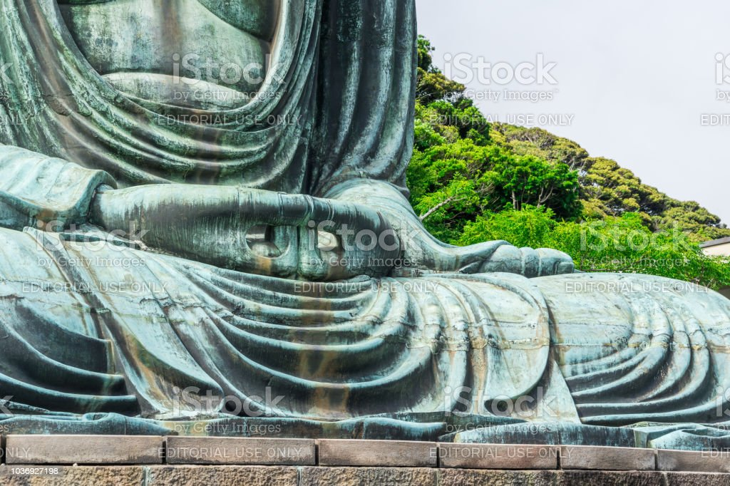 Great Buddha in kotokuin, kamakura, Japan stock photo