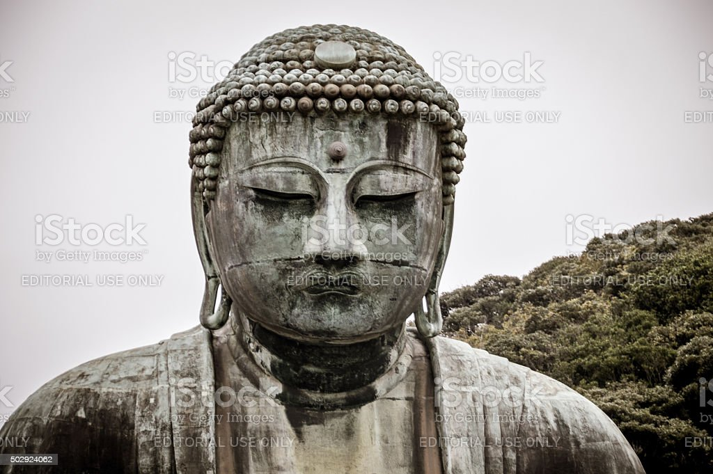 Great Buddha of Kamakura, Japan stock photo