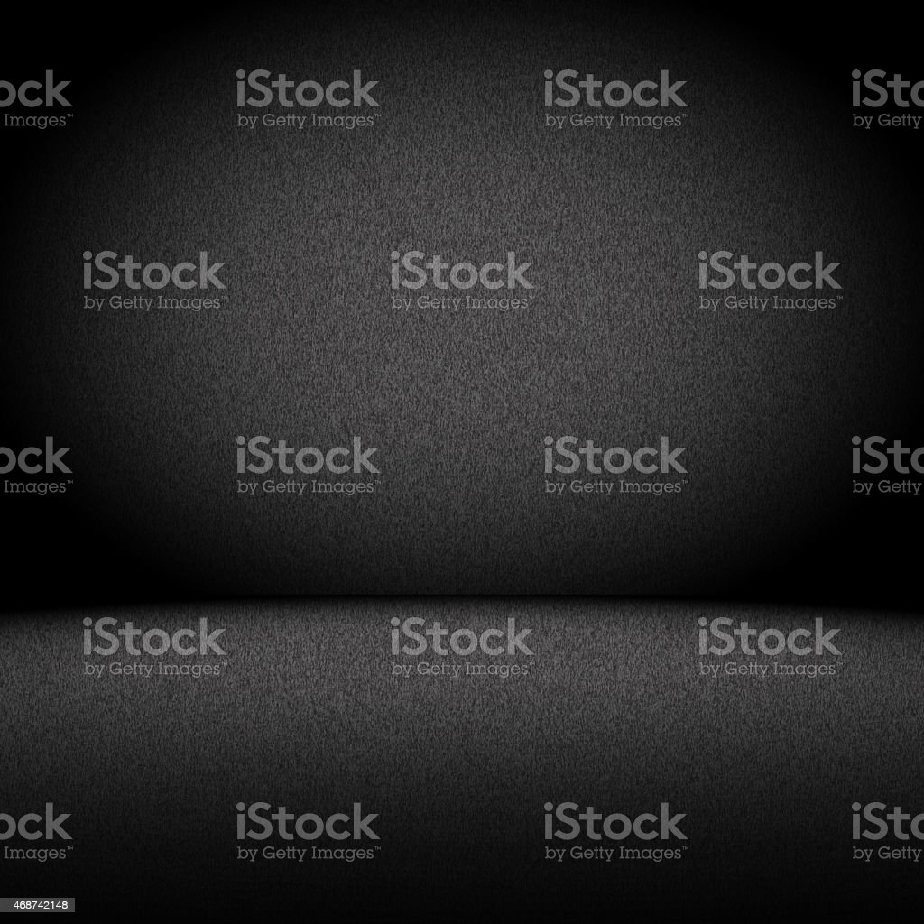 Great cloud Black gradient background stock photo
