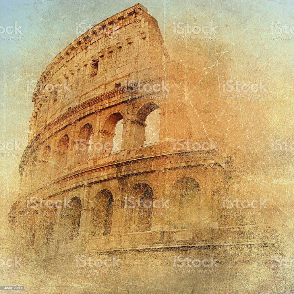 great Colosseum stock photo