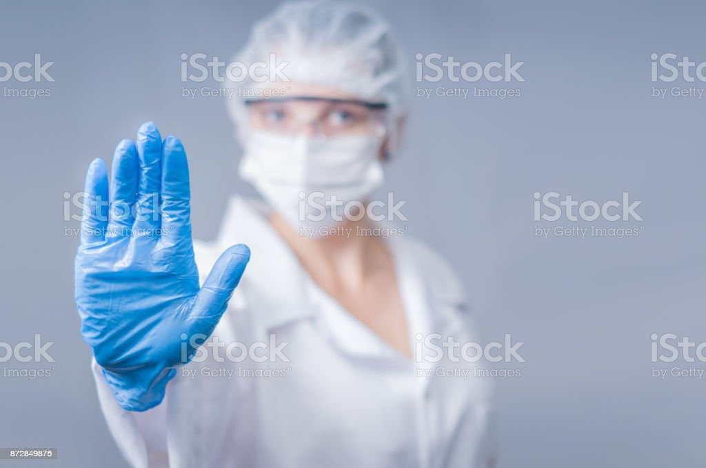 Great concept of infection stock photo