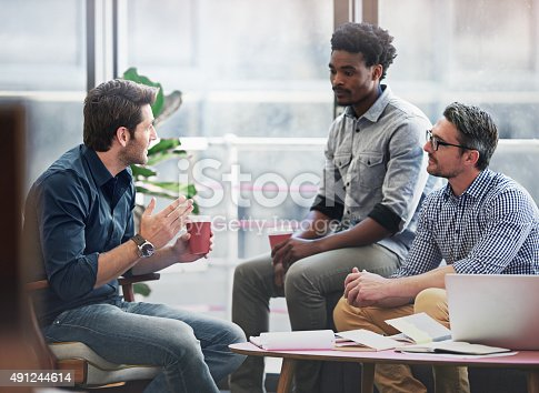 491244494 istock photo Great creative minds that think alike 491244614