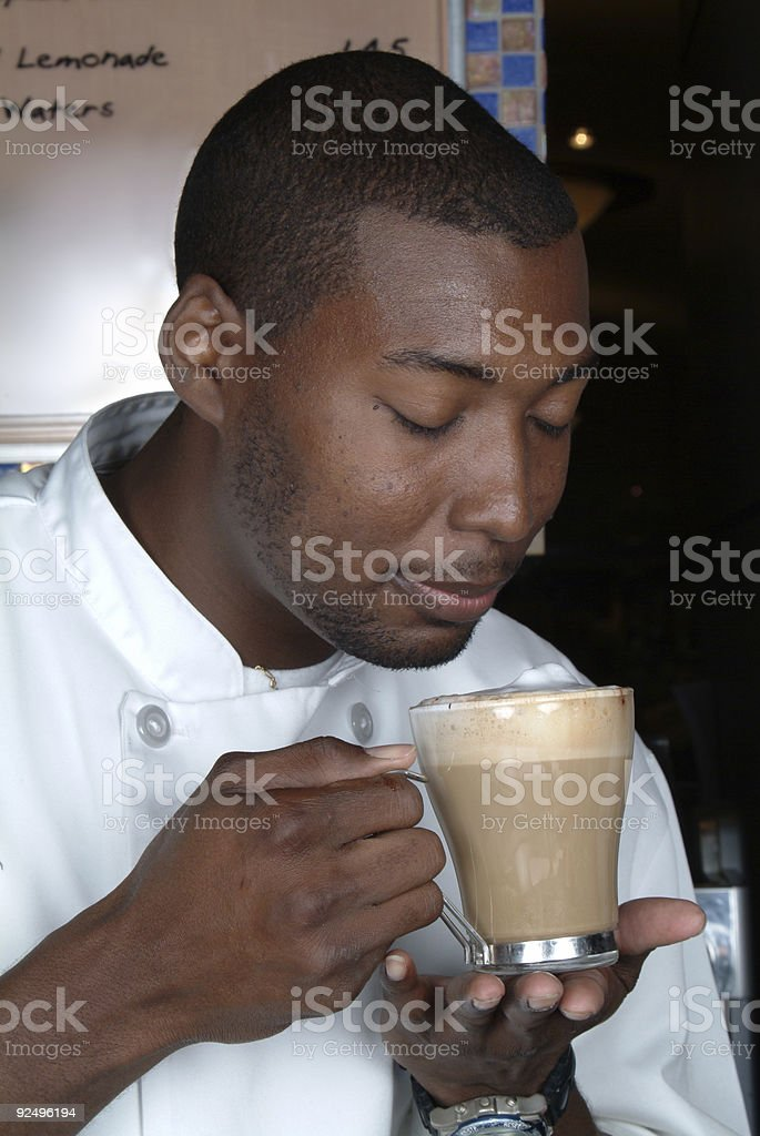 Great cup of coffee royalty-free stock photo