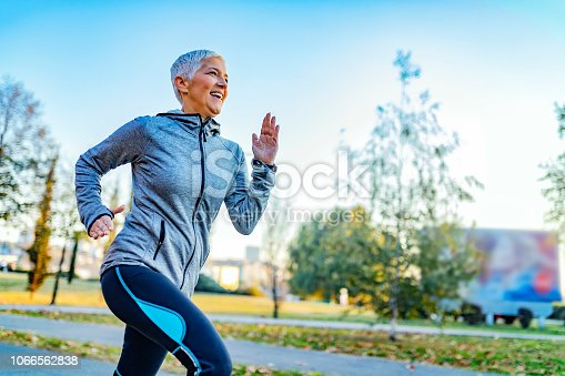 istock Great day for a run 1066562838