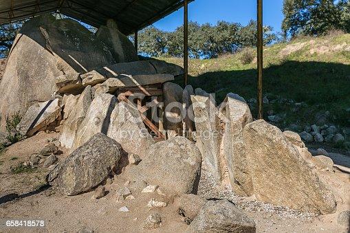 istock Great Dolmen of Zambujeiro 658418578