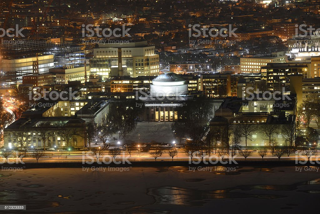 Great Dome of MIT, Boston, Massachusetts royalty-free stock photo