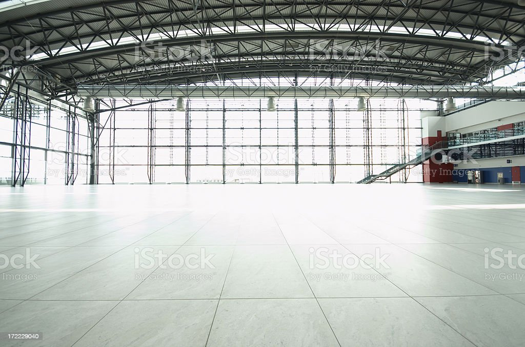 Great  Empty Hall stock photo