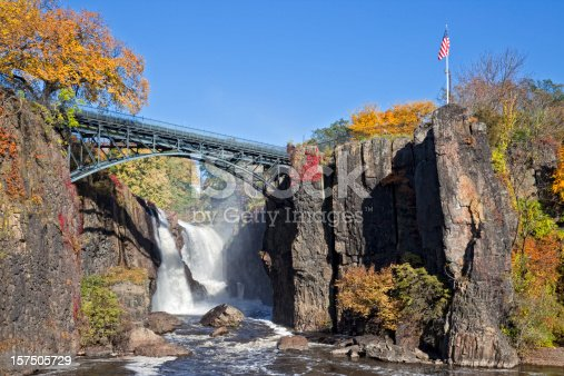 Great Falls in Paterson NJ is the second largest waterfalls on the East Coast.