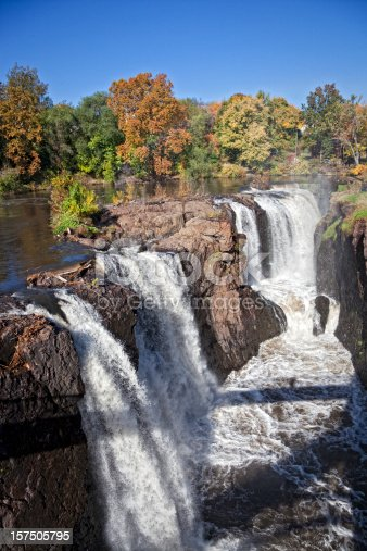 Great Falls in Paterson New Jersey, the second largest waterfalls on the East Coast.