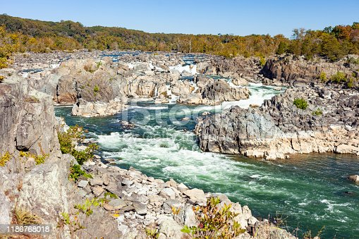 istock Great Falls National Park In Fairfax, Virginia 1186768018