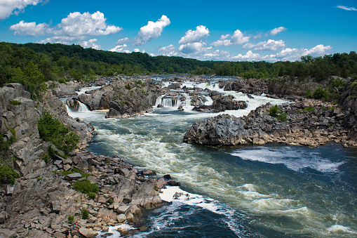 Great Falls National Park Stock Photo - Download Image Now