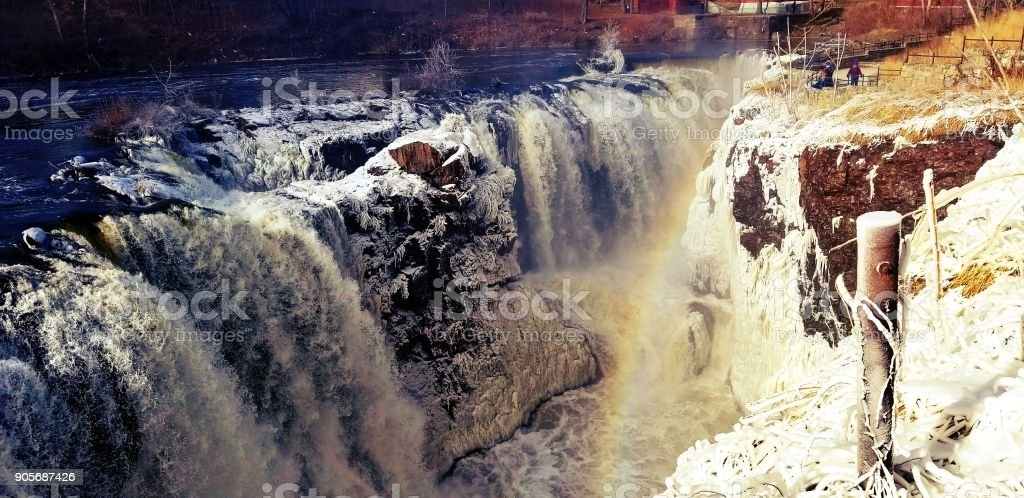 Great falls new Jersey stock photo