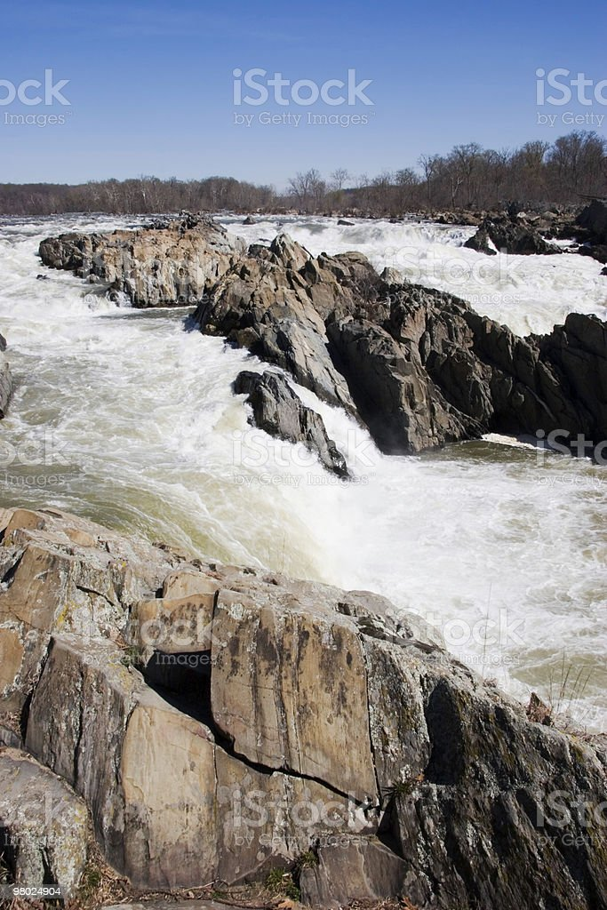 Great Falls Park royalty-free stock photo