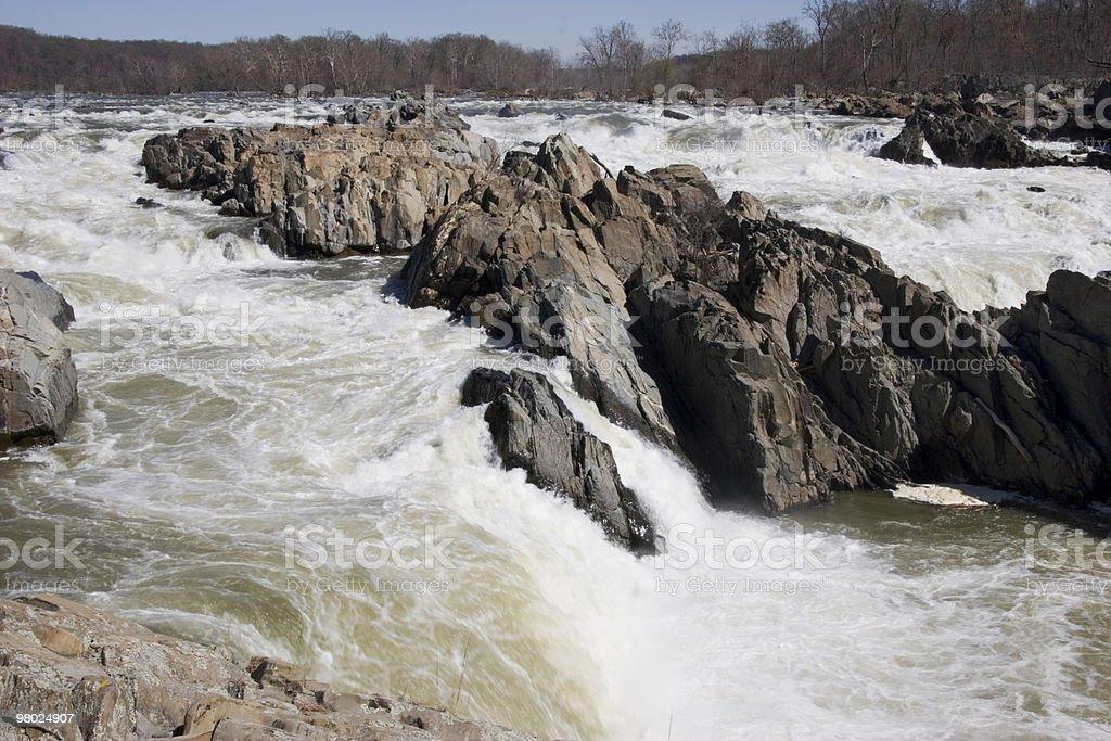 Great Falls Park royalty-free stock photo