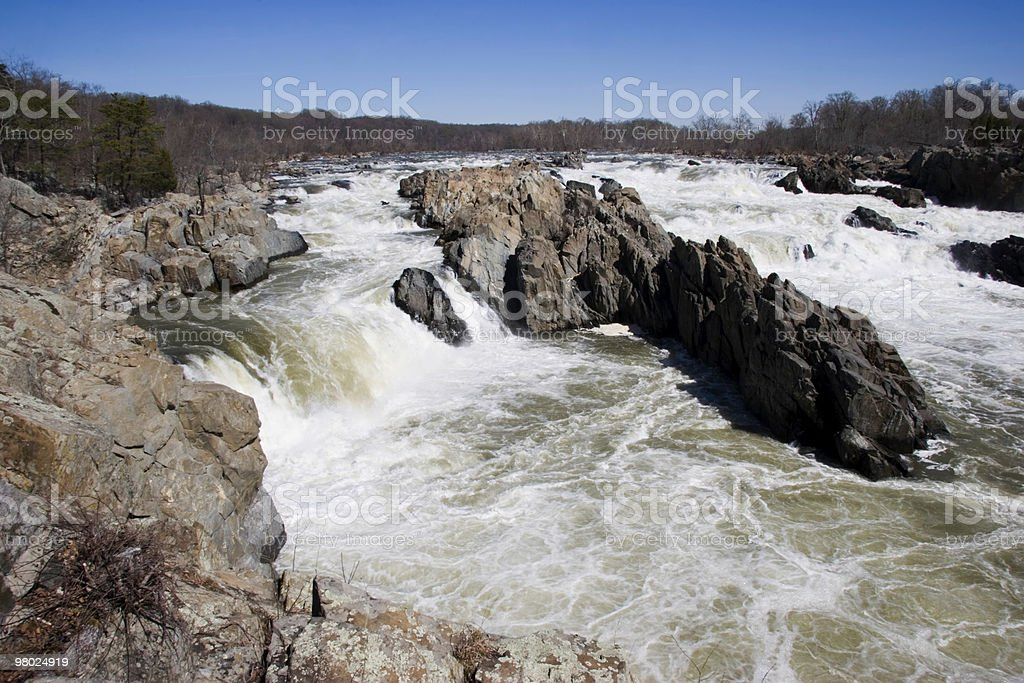 Great Falls Park foto stock royalty-free