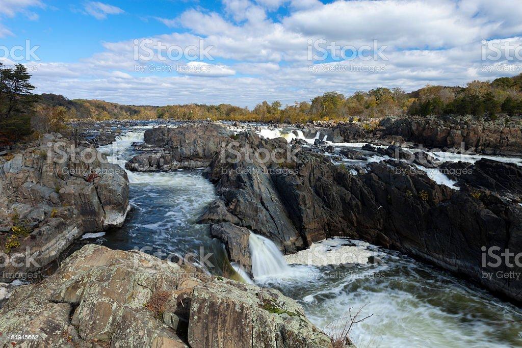 Great Falls Park, Virginia, USA stock photo