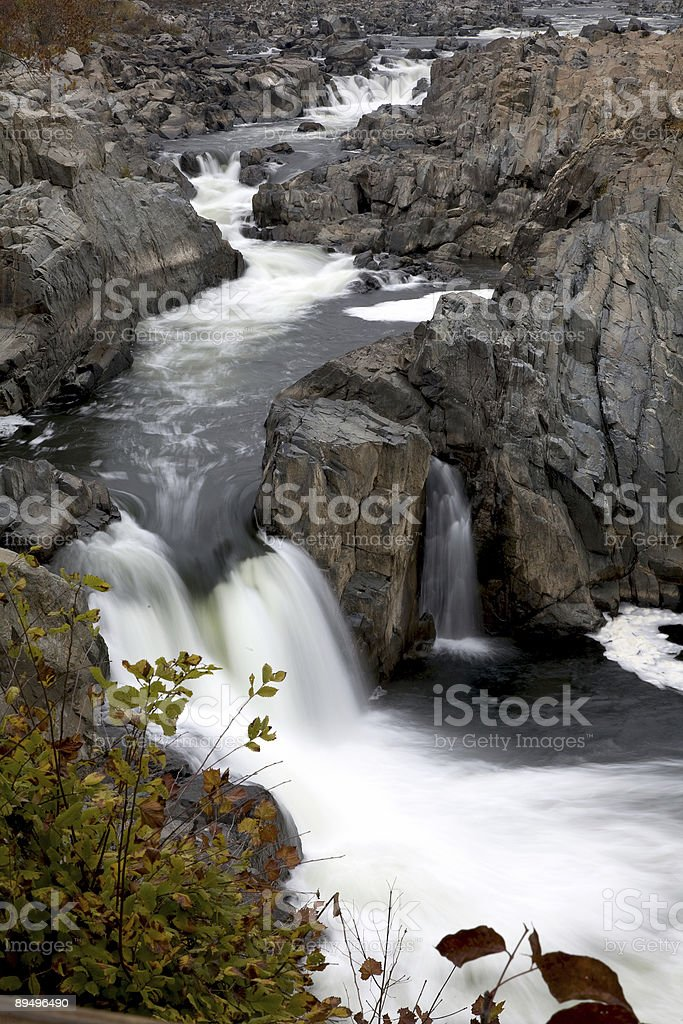 Great Falls royalty-free stock photo