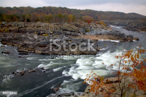 Great Falls Stock Photo & More Pictures of Autumn