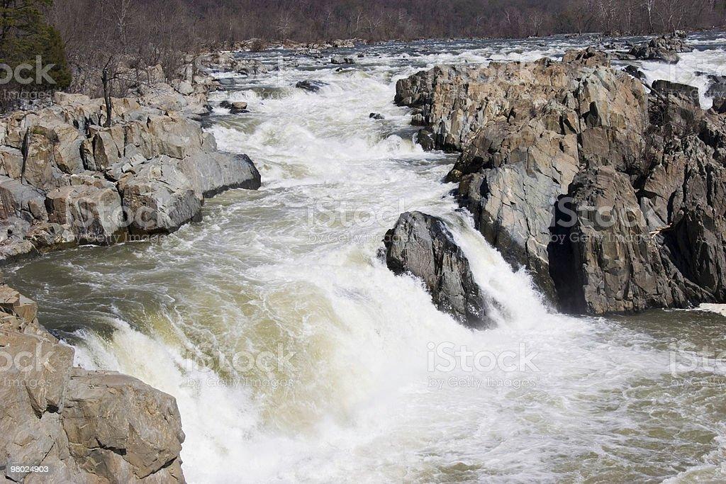 Great Falls royalty-free stock photo