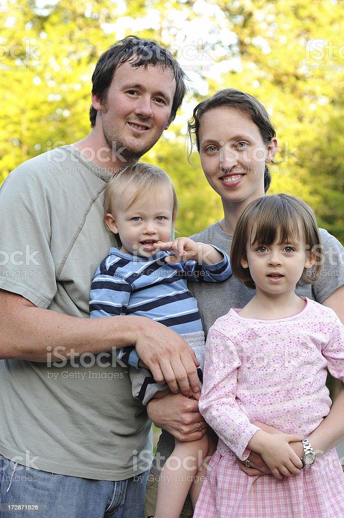 great family royalty-free stock photo