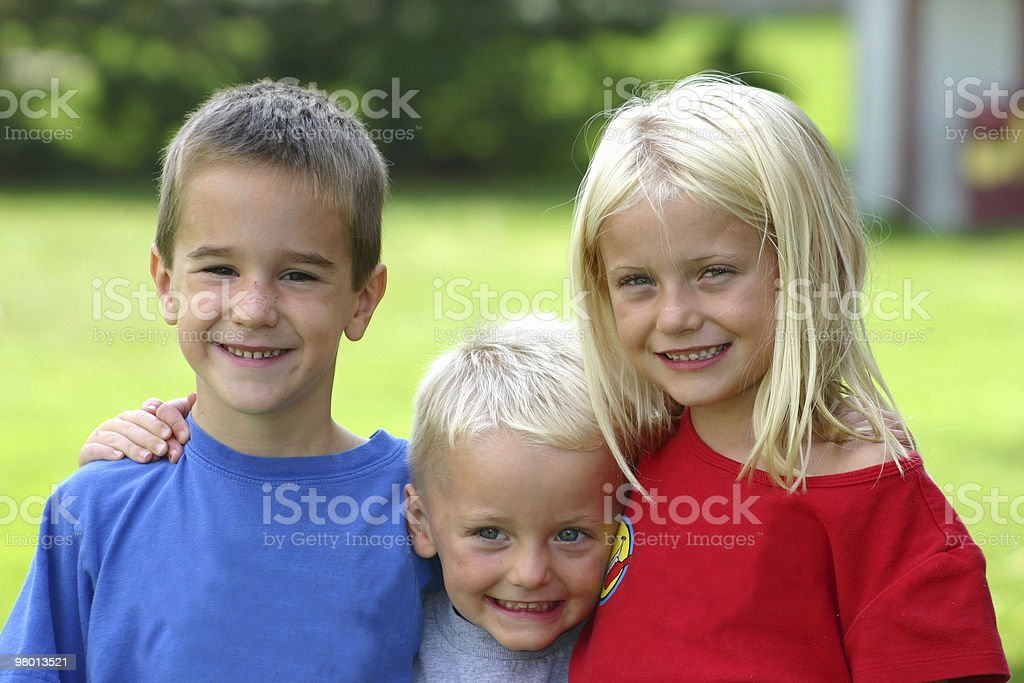 Great Friends royalty free stockfoto