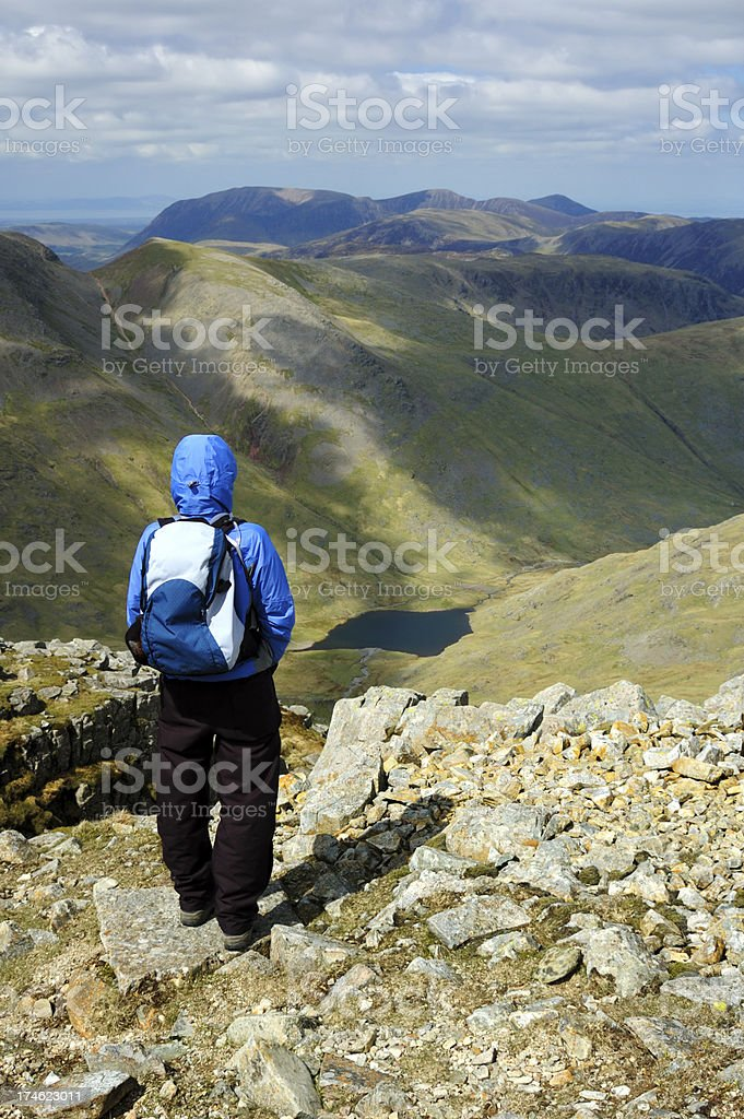 Great Gable royalty-free stock photo