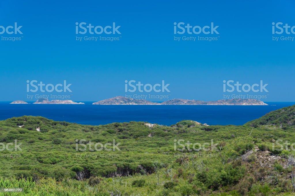 Great Glennie Island off Wilsons Promontory National Park in South Gippsland, Australia royalty-free stock photo