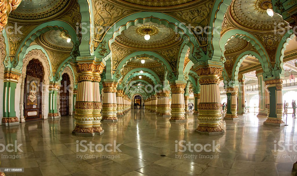 Great Hall Ballroom stock photo