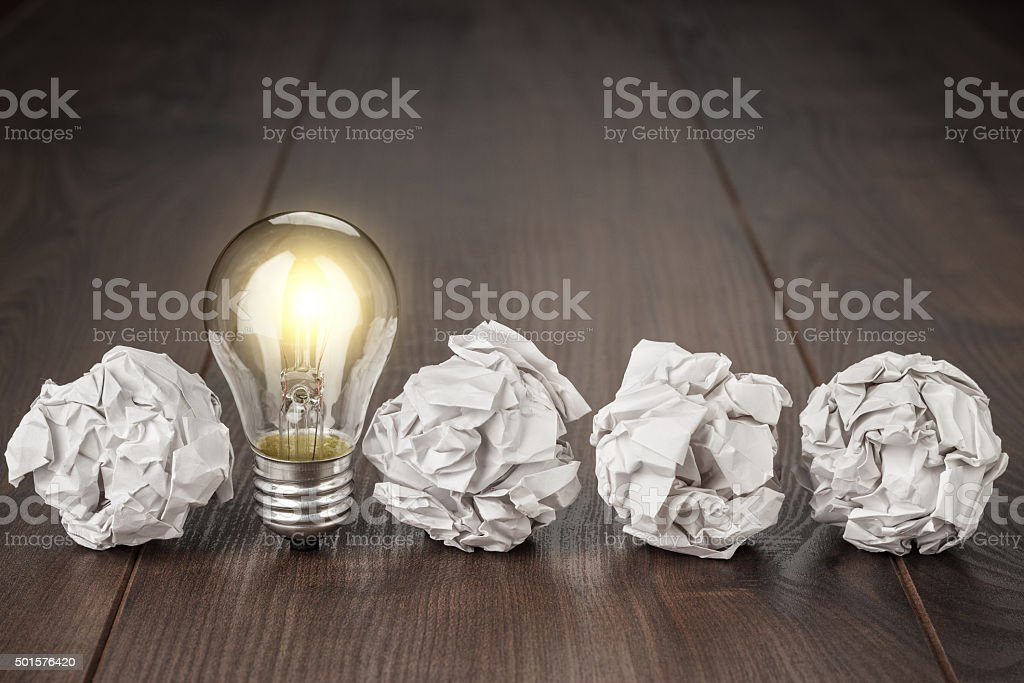 great idea concept stock photo