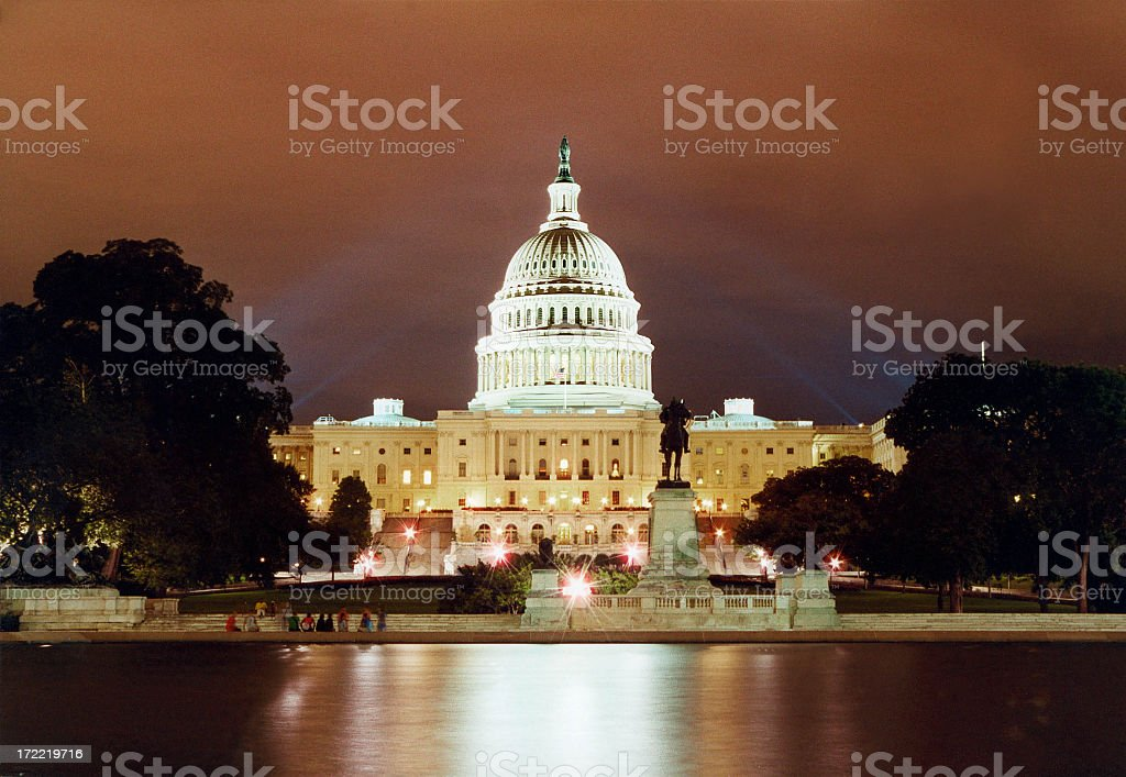 Great image of the Capitol Building in Washington, DC royalty-free stock photo