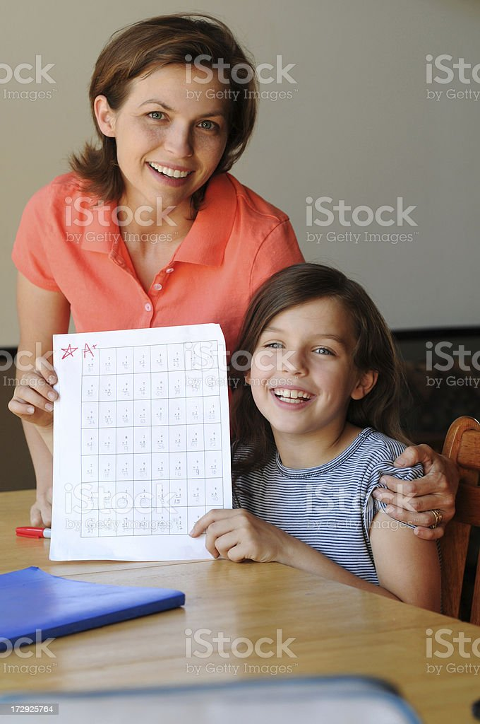 great job kiddo royalty-free stock photo